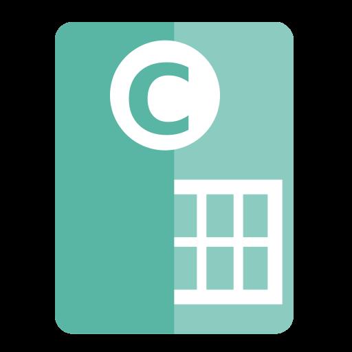 Libreoffice, Calc Icon Free Of Zafiro Apps