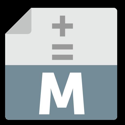 Libreoffice, Math, Alt Icon Free Of Zafiro Apps