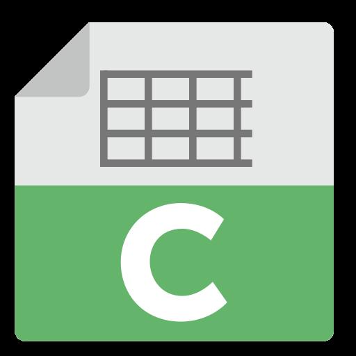 Libreoffice, Calc, Alt Icon Free Of Zafiro Apps