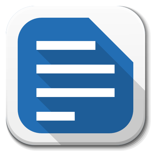 Apps Libreoffice Writer B Icon Free Download As Png