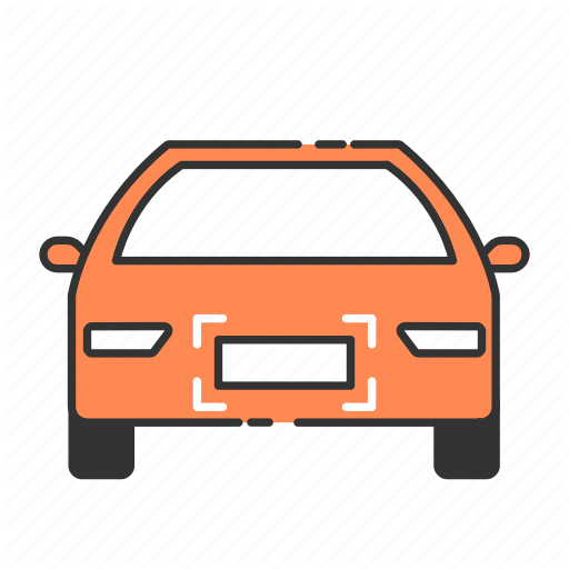 Auto, Car, Licence, Plate, Recognition, Registration, Vehicule Icon
