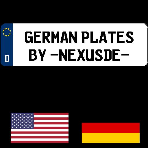 German License Plate Mod