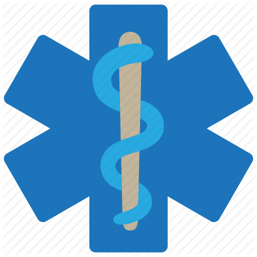 Hospital, Medical, Snake, Star Of Life Icon