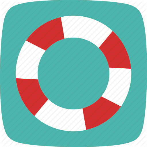 Life Preserver, Protection, Safety, Water Icon