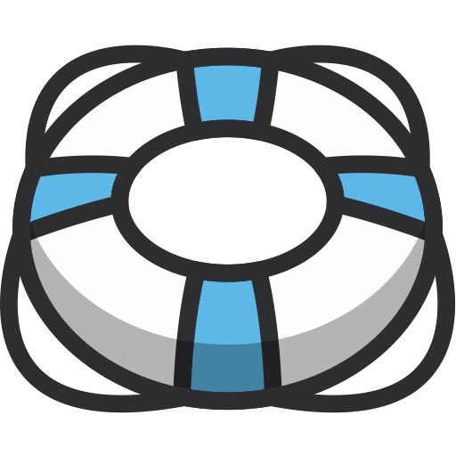 Life Ring, Security, Float, Ring, Lifering, Life Guard Icon