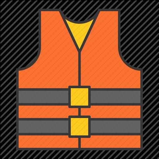 Life Vest, Nautical, Safety, Vest Icon