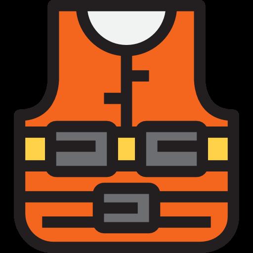 Life Vest, Preserver, Lifesaver, Lifejacket, Miscellaneous Icon