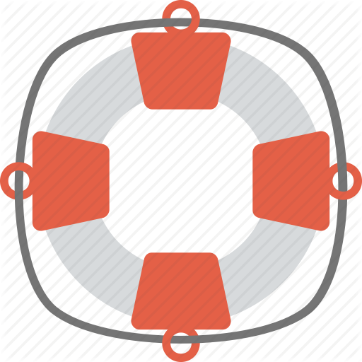 Lifebuoy, Lifeguard, Lifesaver, Rescue Drowning, Swimming Tool Icon