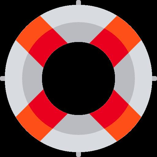 Lifebuoy, Lifeguard, Lifesaver Icon