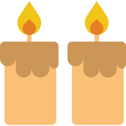 Candles Icon Romance And Lifestyle Smashicons
