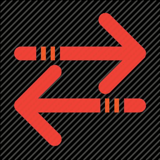 Arrows, Exchange Icon