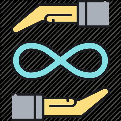 Infinity, Insurance, Lifetime, Perpetual, Perpetual Insurance Icon