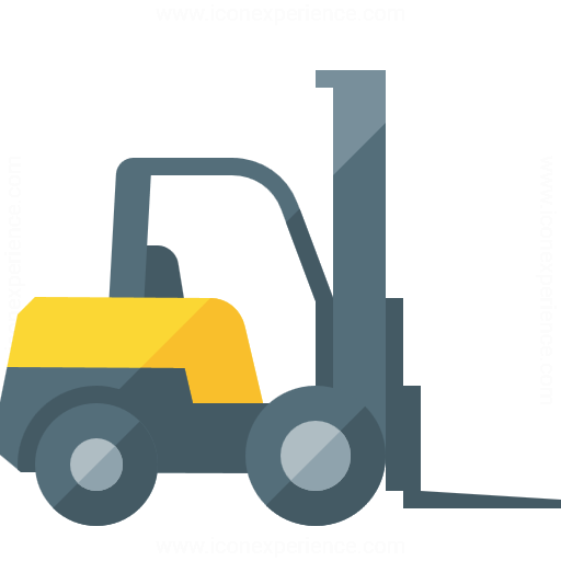 Iconexperience G Collection Forklift Icon