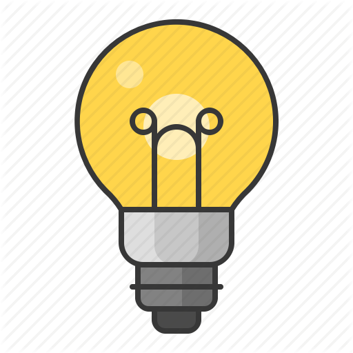 Bright, Bulb, Electric, Led, Light, Lightbulb Icon