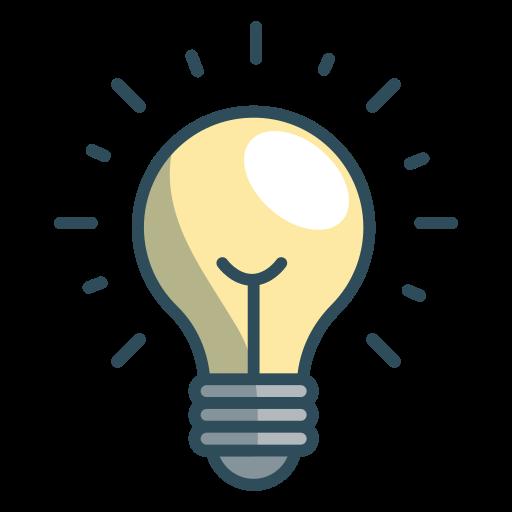 Idea, Light, Bulb Icon Free Of Office