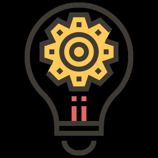 Artificial Intelligence, Settings, Light, Bulb Icon Free