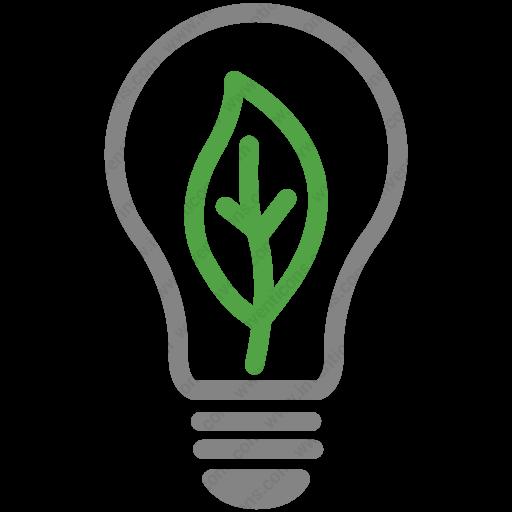 Download Eco,effciency,energy,leaf,light Bulb,lighting