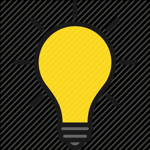 Idea Light Bulb Vector Transparent Huge Freebie! Download