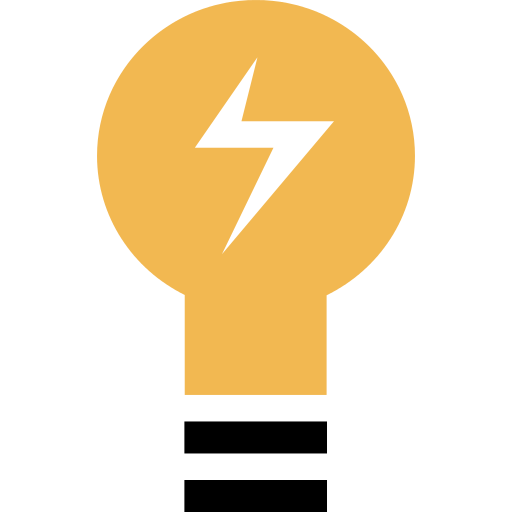 Light Bulb Electricity Png Icon