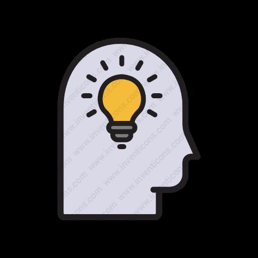 Download Creativity,idea,lightbulb,idea,light Icon Inventicons