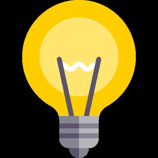 Idea, Light Bulb, Invention Icon