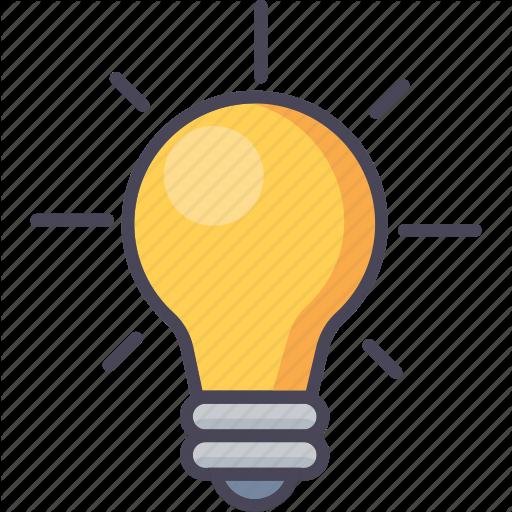 Idea Lightbulb Transparent Png Clipart Free Download