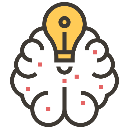 Artificial Intelligence, Brain, Light, Bulb, Idea Icon Free