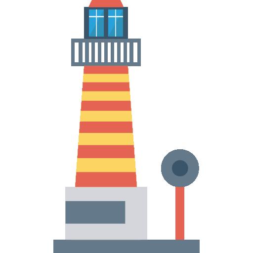 Lighthouse Icon Building Dinosoftlabs