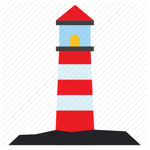 Architecture, Building, Construction, Lighthouse Icon