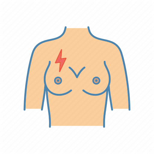 Breast, Breast Ache, Breast Pain, Lightning Bolt, Mammary