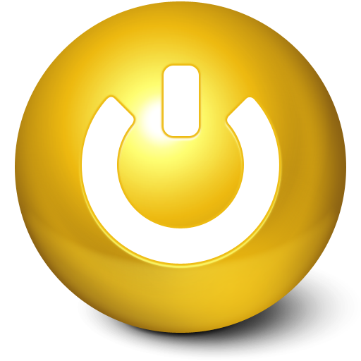 I Like Buttons Goldenrod Icon