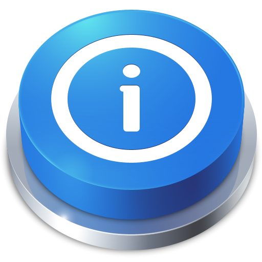 Perspective Button Info Icon I Like Buttons Iconset