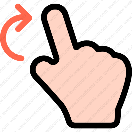 Download Finger,rotation,gesture,multimedia,option,hand Icon