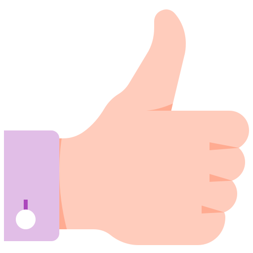 Like, Hand, Thumb Up, Okey, Ok, Accept Icon Free Of Colorful