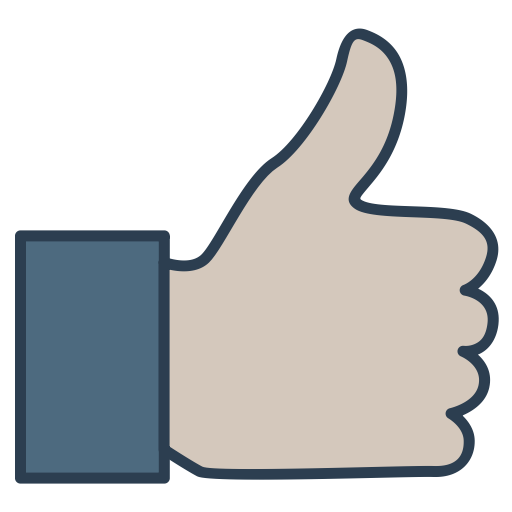 Thumb Up, Finger, Shape, Like, Hand, Sign, Black, Signs, Symbol Icon