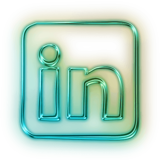 Download Free Like Icons Button Neon Linkedin Facebook, Computer