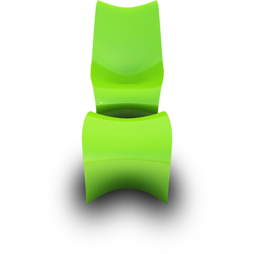 Lime Seat Icon Modern Chairs Iconset Archigraphs
