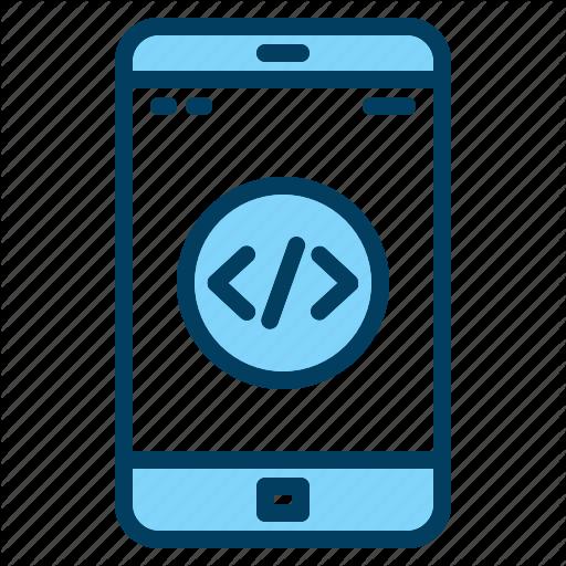 App, Code, Coding, Development, Mobile, Programming Icon