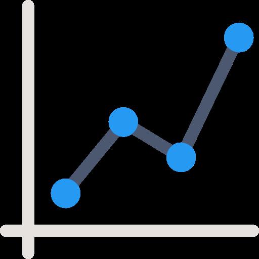 Connection, Business, Statistics, Line Chart, Line Graphic, Line