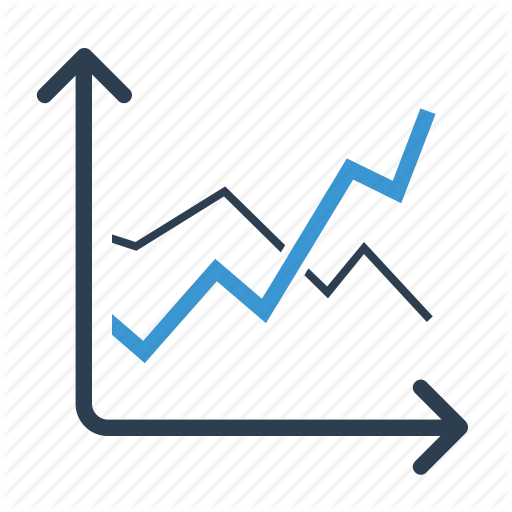 Earnings, Line Graph, Sales, Statistics Icon