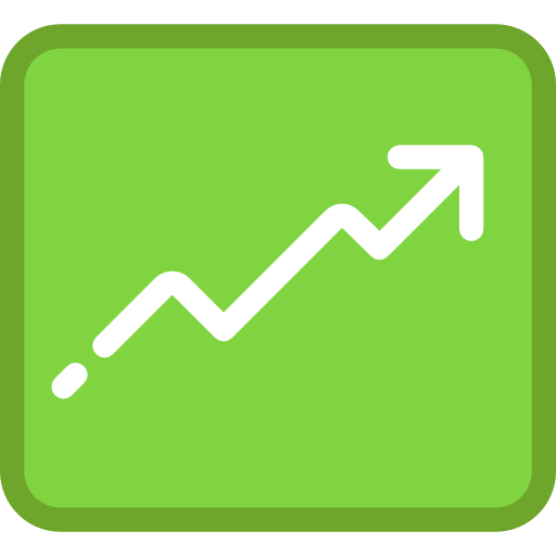 Line Graph, Seo And Web, Graphic, Up Arrow, Line Chart, Graph
