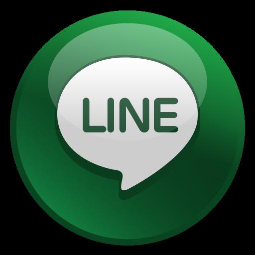 Line Icon Glossy Social Iconset Social Media Icons