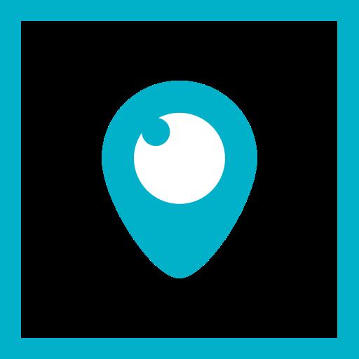 Social Media Square Line Icon