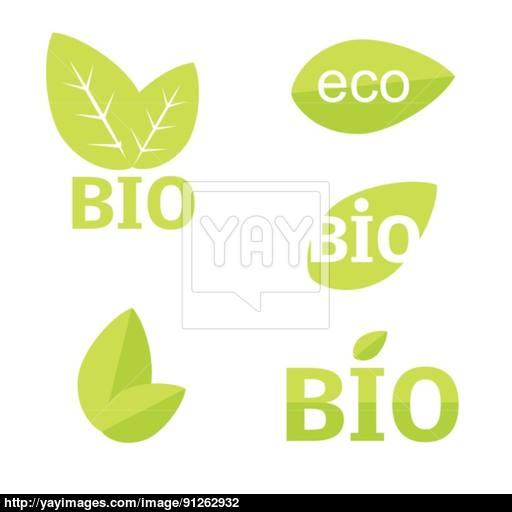 Ecology, Organic Icon Set Eco Icons Vector