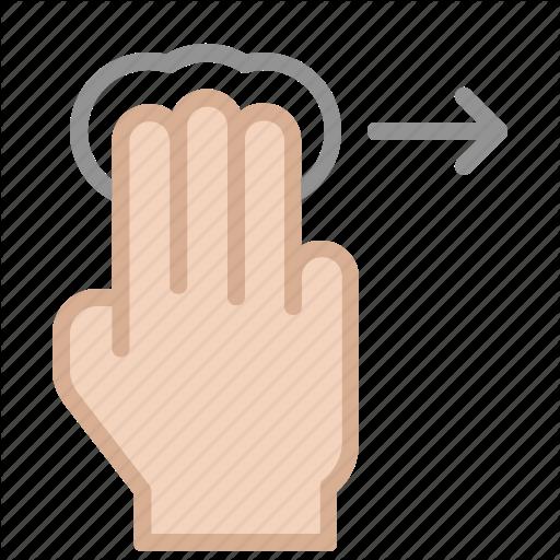 Hand Gesture Icons Set