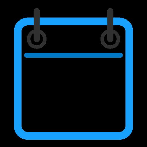 Calendar, Blank, Linear Icon Free Of Snipicons Linear