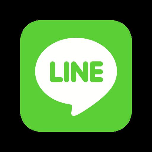Line Icon Free Of Social Media Logos I Flat Colorful