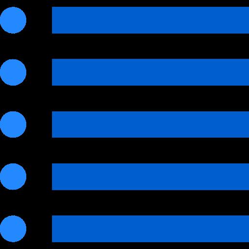 List, Option, Signs, Alignment, Symbol, Text, Menu, Lines Icon