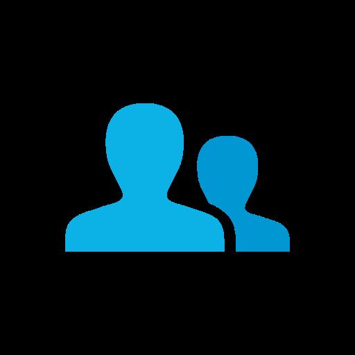 Network, User, Linkedin, My Network Icon