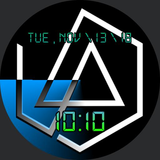 Linkin Park Missing Chester Logo Watchface Copy For Huawei Watch